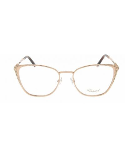 Beżowe okulary Chopard