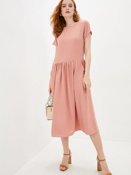 Повседневное платье розовое весеннее Buono