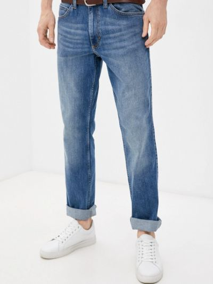 Синие джинсы осенние Mustang