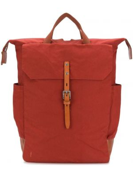Оранжевая кожаная сумка Ally Capellino