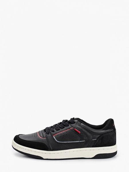 Кожаные черные кроссовки Levi's®