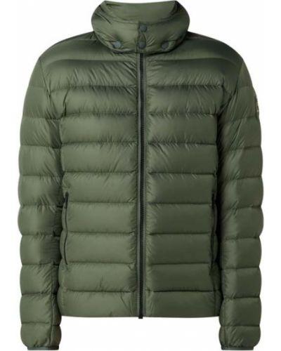 Zielona kurtka puchowa z kapturem Colmar Originals