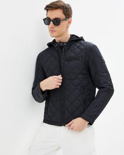 Черная утепленная куртка Replay