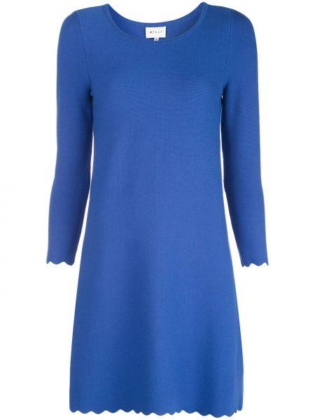 Платье мини с рукавами свободного кроя Milly