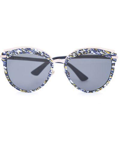 Солнцезащитные очки кошачий глаз пластиковые Dior (sunglasses) Women