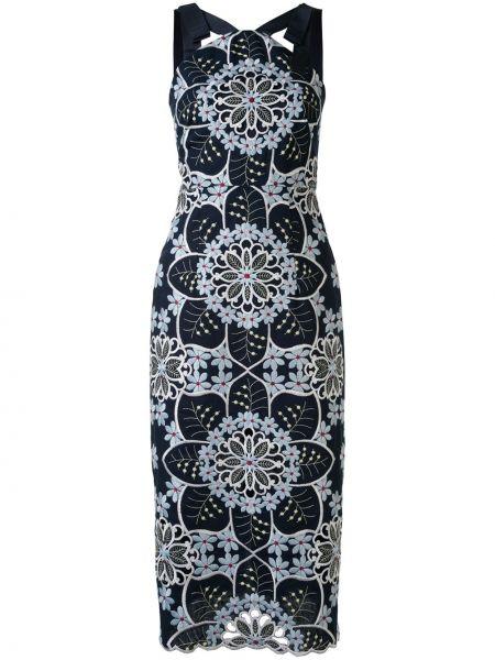 Платье миди с открытой спиной с цветочным принтом Alice Mccall