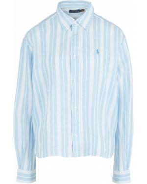 Рубашка льняная в полоску Polo Ralph Lauren