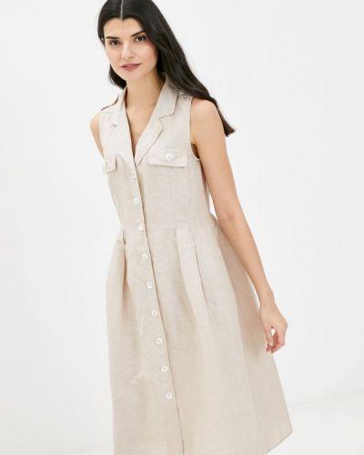 Повседневное бежевое платье Gerry Weber