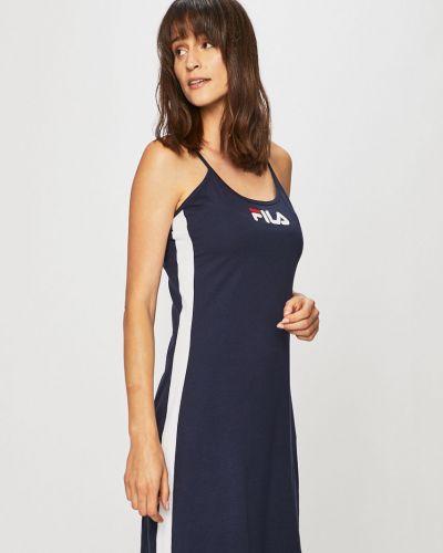 Темно-синее платье Fila