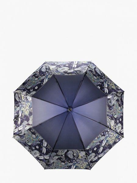 Зонт-трость синий Fabretti