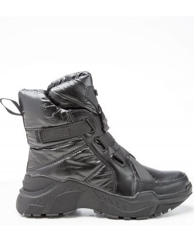 Брендовые черные ботинки Vensi