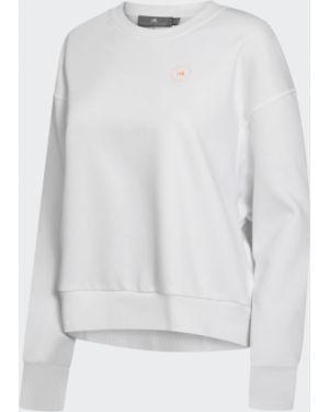 Джемпер флисовый из лисы Adidas