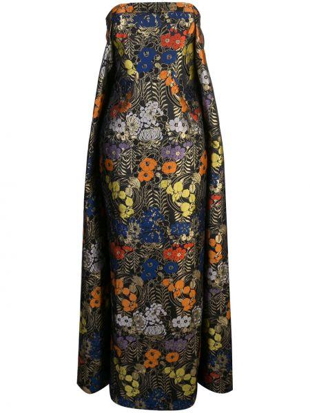 Расклешенное платье - черное Zac Zac Posen