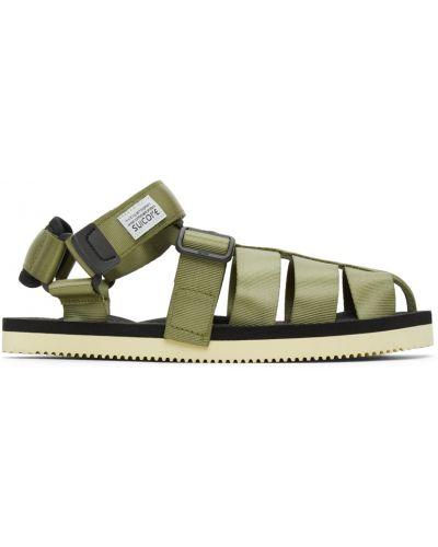 Sandały na rzepy - białe Suicoke
