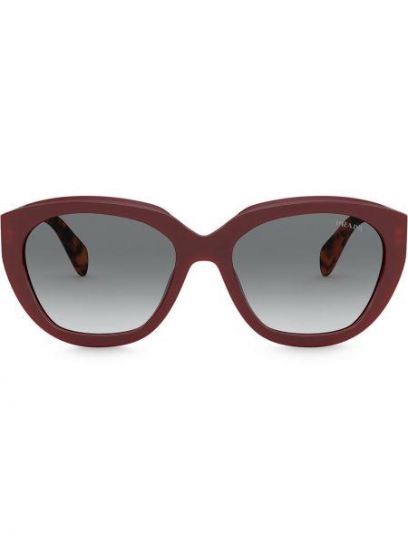 Okulary khaki Prada Eyewear
