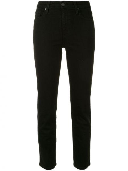 Джинсы с завышенной талией - черные Ag Jeans