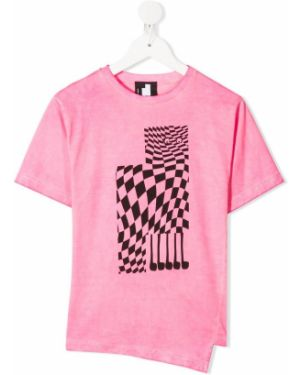 Розовая футболка Cinzia Araia Kids
