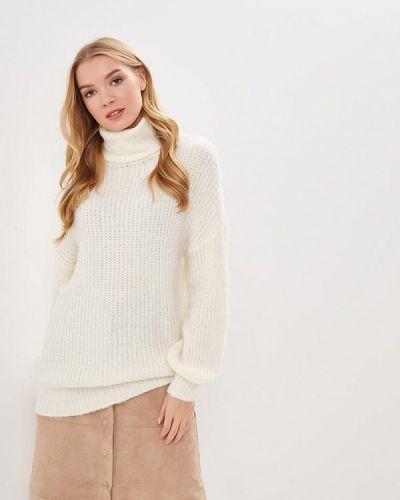 Белый свитер осенний Noisy May