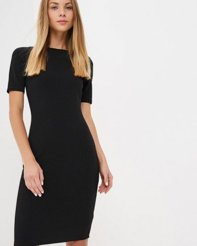 Платье осеннее черное Dorothy Perkins