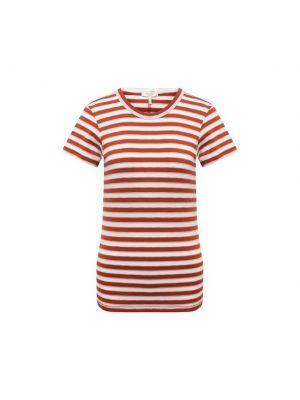 Хлопковая футболка - оранжевая Rag&bone