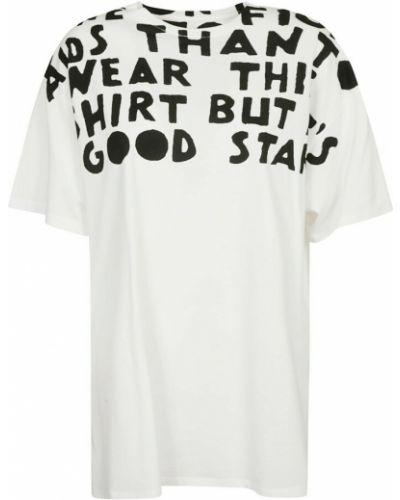 Biała t-shirt Maison Margiela