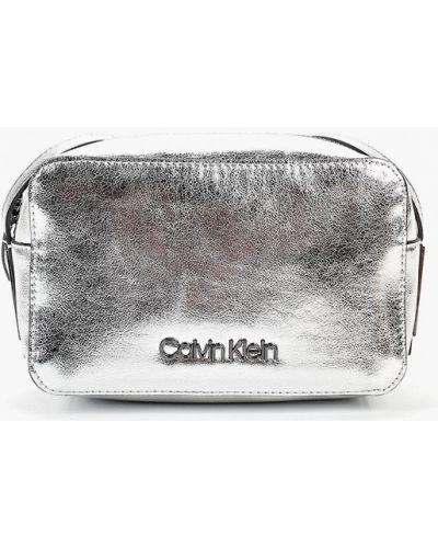 Джинсы серебряного цвета Calvin Klein Jeans