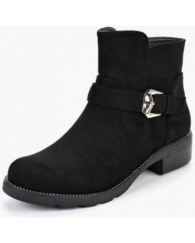 Ботинки на каблуке осенние замшевые Tulipano