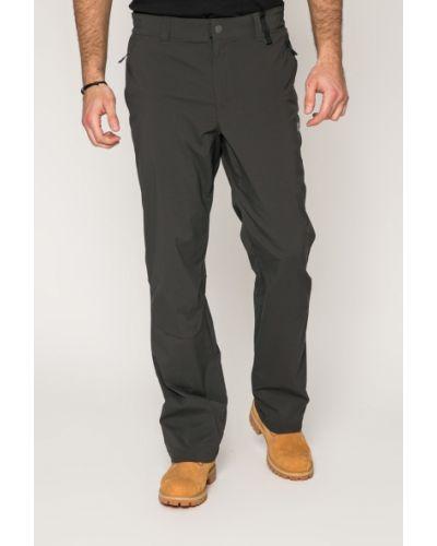 Прямые брюки с карманами черные Jack Wolfskin