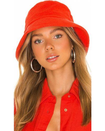 Czerwona czapka wełniana Lack Of Color