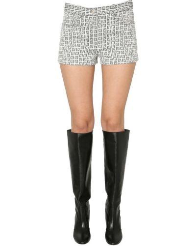 Szorty w kratę - szare Givenchy