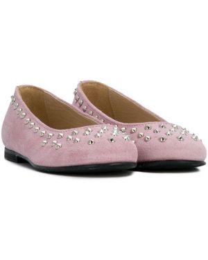 Розовые балетки Ermanno Scervino Junior
