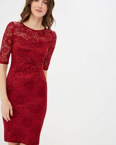 Платье весеннее красный Yumi