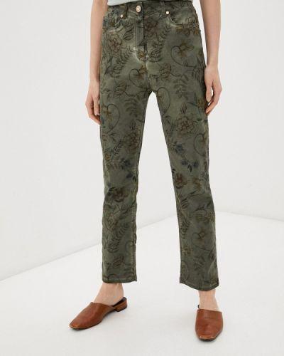 Повседневные зеленые брюки Franco Vello