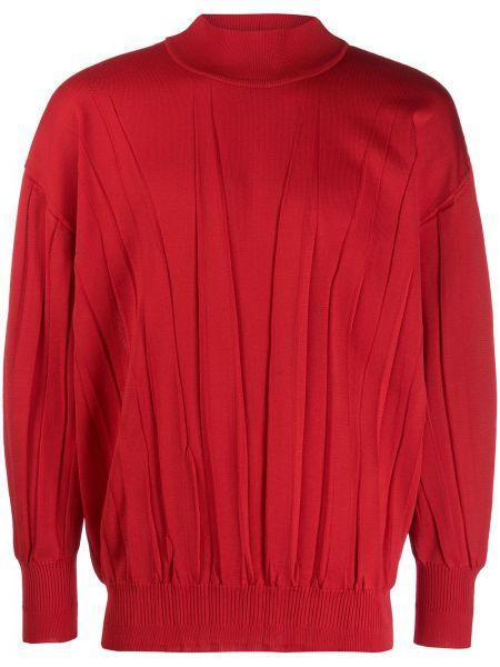 Топ винтажный красный Issey Miyake Pre-owned