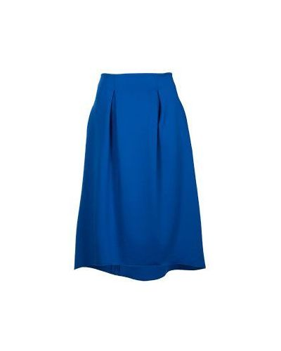 Синяя юбка миди Armani Jeans