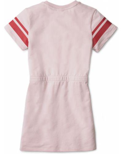 Платье в рубчик - розовое Puma