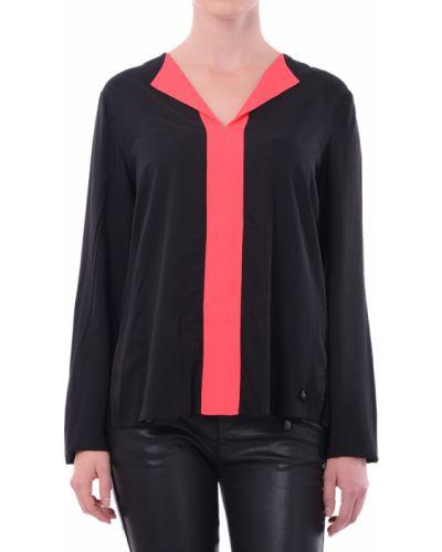 Блузка из вискозы черная Armani Jeans