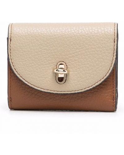 Кожаный кошелек - бежевый Furla