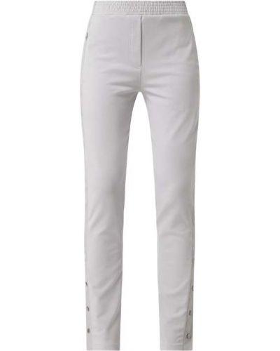 Spodnie w paski bawełniane Marc Cain