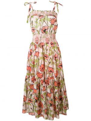 Sukienka bez rękawów plaża bawełna Tory Burch