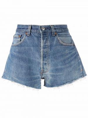 Джинсовые шорты классические - синие Re/done