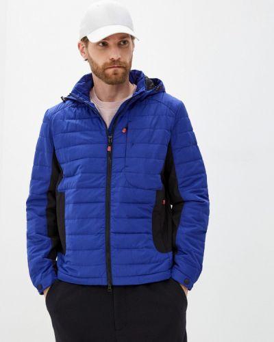 Утепленная синяя куртка W.sharvel