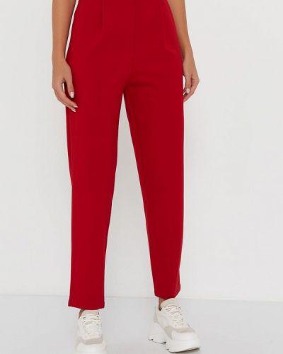 Красные спортивные брюки A.karina