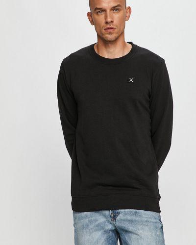 Czarna bluza z kapturem bawełniana Clean Cut Copenhagen