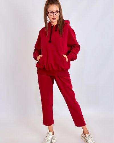 Свободные красные спортивные брюки на резинке Ballet Grace