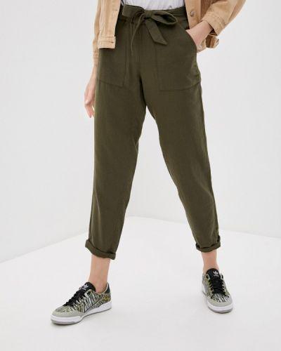 Зеленые зауженные брюки Marks & Spencer