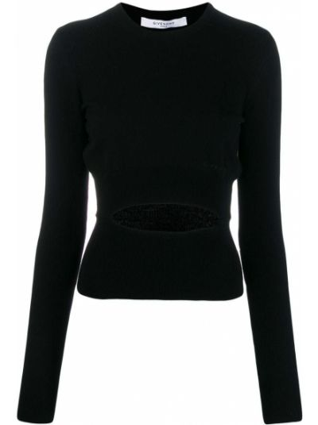 Sweter z kaszmiru trykotowy Givenchy