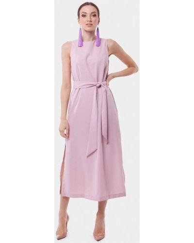 Платье розовое весеннее Vladi Collection