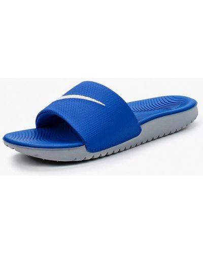 Вьетнамки синий Nike
