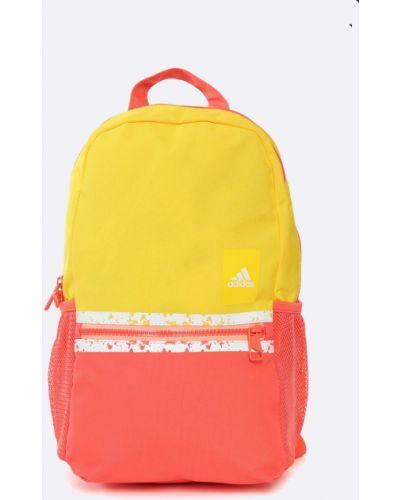 Желтый рюкзак с отделениями Adidas Performance